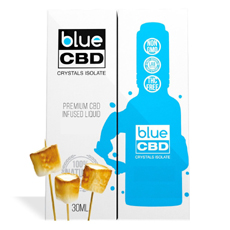 Toasted Marshmallow Blue CBD Crystal Review