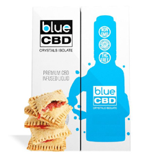Toaster Blue CBD Crystal Isolate Review
