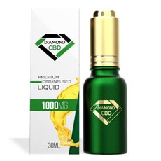 Unflavored Diamond CBD Oil 1000MG