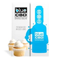 Vanilla Cupcake Blue CBD Crystal Review