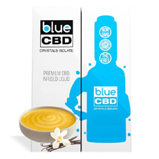 Vanilla Custard Blue CBD Crystal Review