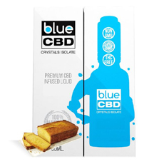 Yellow Cake Blue CBD Crystal Review