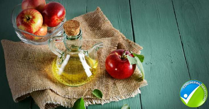 Pure apple cider vinegar
