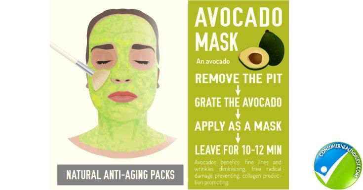 Avocado Yogurt Mask
