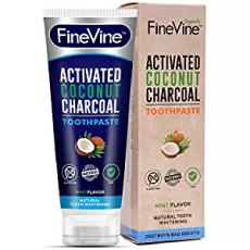 FineVine Activated Coconut Toothpaste