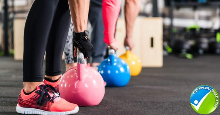 Fitness Training Kettlebell