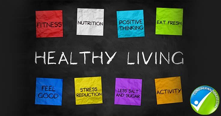 Healthy Living Illustration