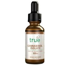 True Cannabinol Isolate