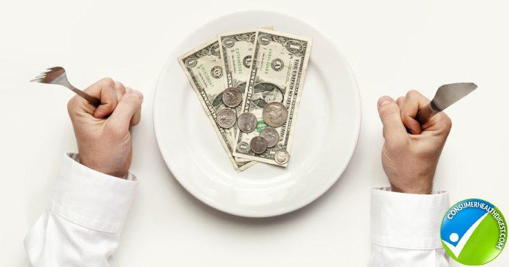 Money Diet Concept