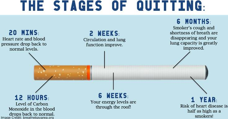 Quit Smoking Stages
