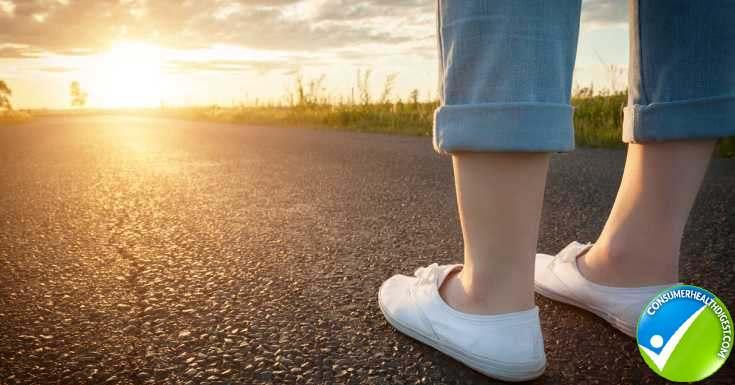 Women In White Sneakers