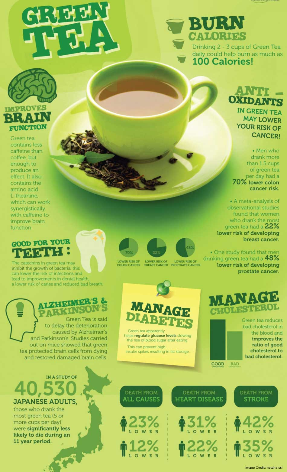 Green Tea Burn Calories