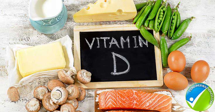 Natural sources of vitamin D include