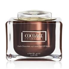 Cocoage- Dark Chocolate 24K Gold Peel Off Mask
