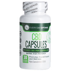 Everyday Optimal CBD Oil Capsules
