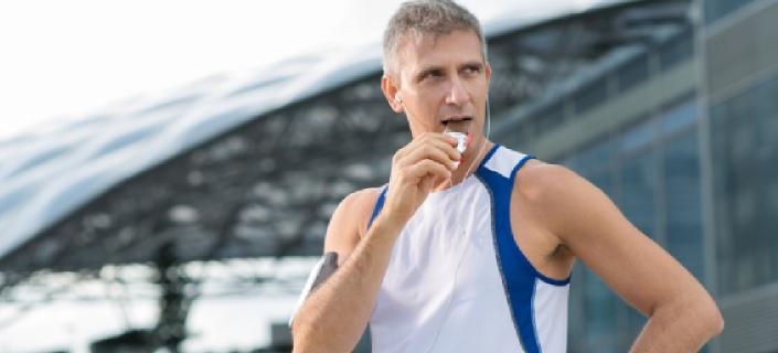 Athletic Mature Man