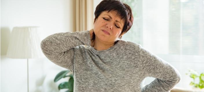 Woman Suffering Backache