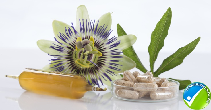 Passion Flower Dietary Supplement