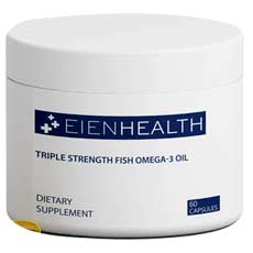 Eien Health Triple Strength Omega-3 Fish Oil