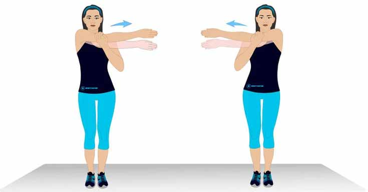 warm-up stretches for shoulder arthritis