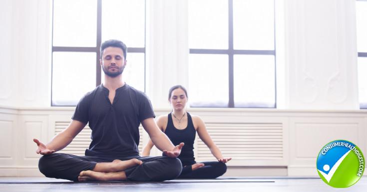Do yoga together