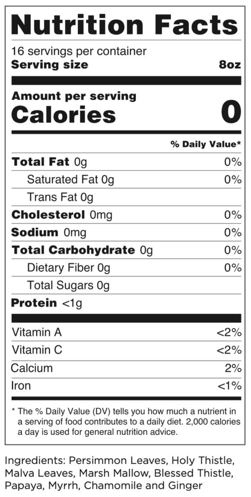 Iaso tea supplements facts