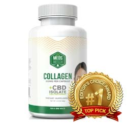Meds Biotech CBD Collagen Capsules
