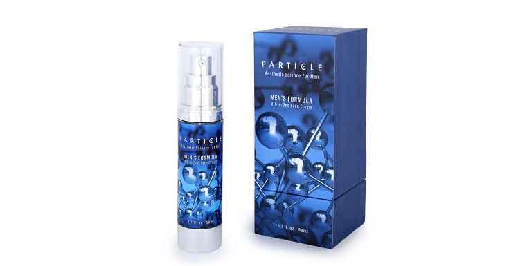 particle face cream