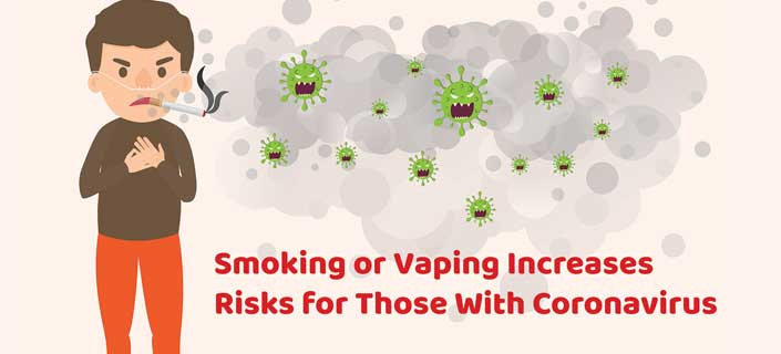 smoking vaping coronavirus